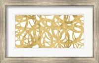 Framed Endless Circles Front Gold IV