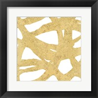 Framed Endless Circles Front Gold III