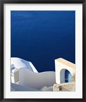 Framed Santorini II Crop