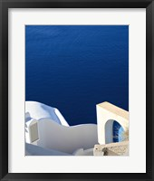 Framed Santorini II Crop