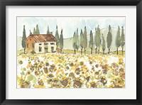Framed Tuscan Elegance I