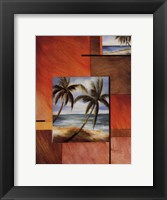 Framed Tropical Breeze I