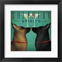 Framed Double Shepherd Martini