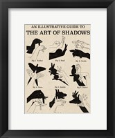 Framed Art of Shadows X
