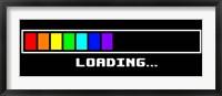 Framed Loading -Rainbow