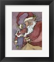 Framed Santa II