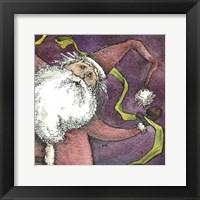 Framed Santa V