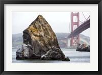 Framed Needle Rock