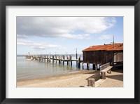 Framed China Camp Pier