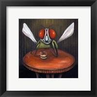 Framed Bar Fly