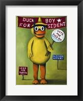 Framed Duck Boy 2