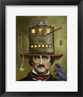 Framed Edgar Allan Poe
