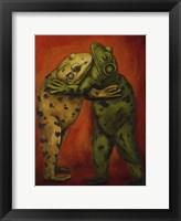 Framed Frogdancers