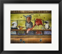 Framed Iberts Bug Buffet