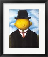 Framed Lemon Head