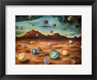 Framed Raining Marbles 3