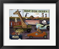 Framed Soap Box Derby