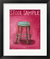 Framed Stool Sample
