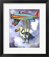 Framed Lazy Bird W Dodo
