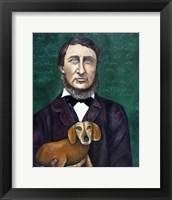 Framed Thoreau