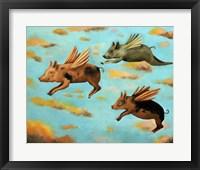 Framed When Pigs Fly