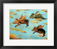 Framed When Pigs Fly