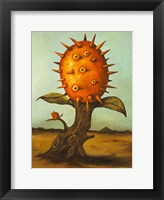 Framed Fruit Tree Horned Melon