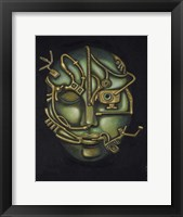 Framed Metal Head