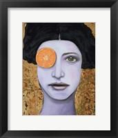 Framed Orange Crush