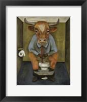 Framed Bull Shitter