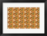 Framed Pumpkin Pattern