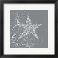 Framed Whimsical Star