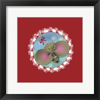 Framed Christmas Critters Mouse