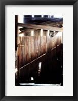 Framed Behind Closed Doors