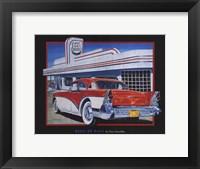 Framed Route 66 Diner