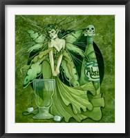 Framed Absinth Fairy