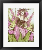 Framed Digitalis Fae