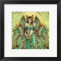 Framed Dragon Queen