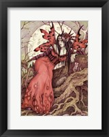 Framed Morgan Le Fay
