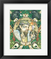 Framed Calling Of Merlin