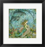 Framed Little Mermaid