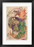 Framed Mistress Summer And Lord Bacchus