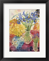 Framed Summer Flowers