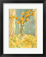 Framed Orange Blossom