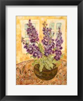 Framed Scented English Stocks