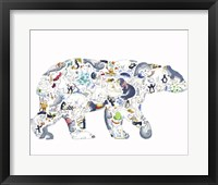 Framed Polar Bear