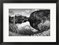 Framed Croatia BW