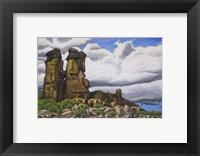 Framed Stone Forest