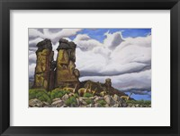 Framed Stone Forest