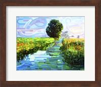 Framed Ebb And Flow